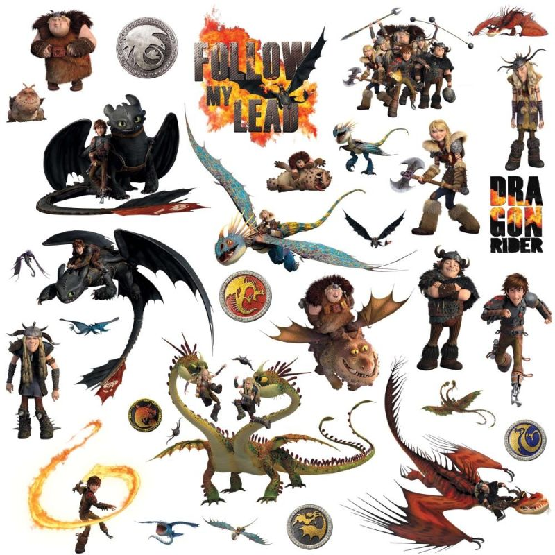 York Wallcoverings RMK2508SCS How to Train Your Dragon 2 Peel and Sale $10.99 ITEM: bci2666816 ID#:RMK2508SCS UPC: 34878072258 :