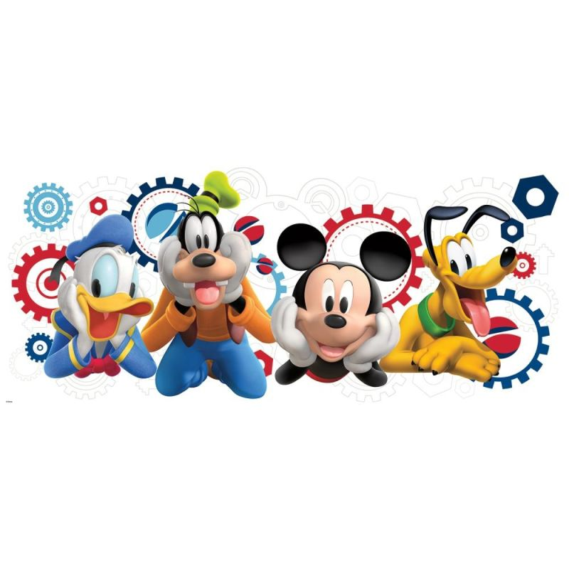 York Wallcoverings RMK2561GM Mickey Mouse Clubhouse Capers Peel and Sale $17.99 ITEM: bci2666440 ID#:RMK2561GM UPC: 34878949574 :