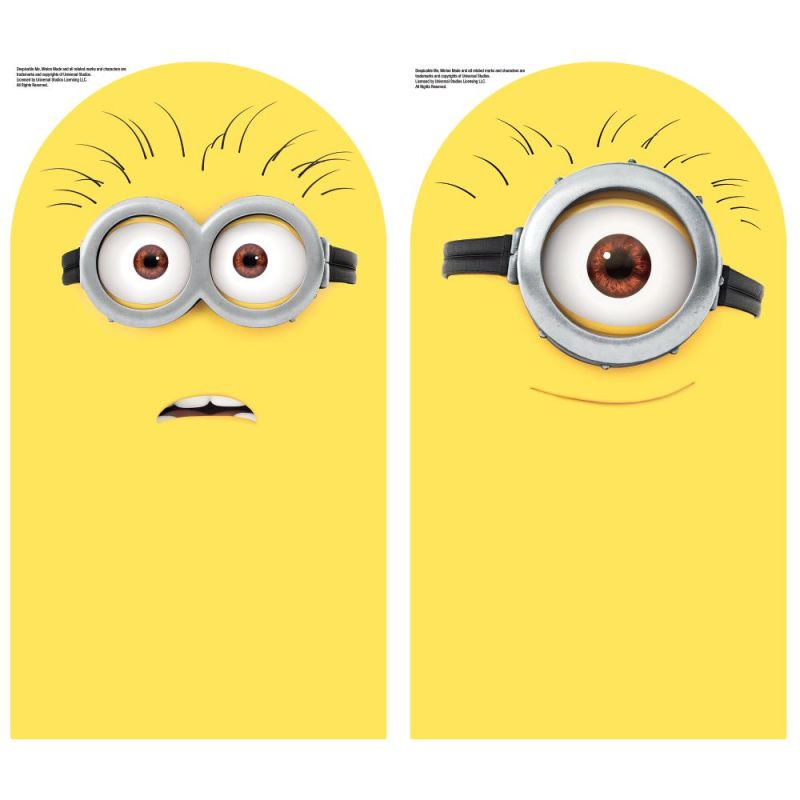 York Wallcoverings RMK2815SCS Kids Universal Studios Minions Dry Erase
