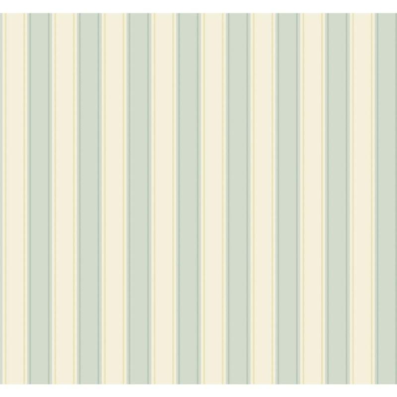 York Wallcoverings SA9161 Ashford Stripes Silk Stripe Wallpaper Blue