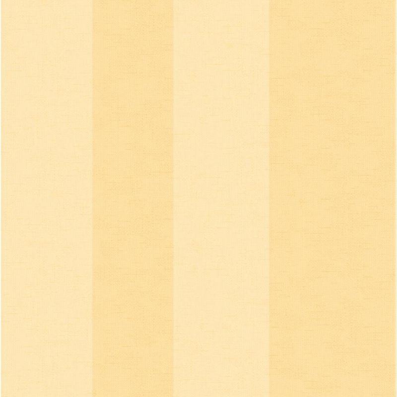 York Wallcoverings SA9191 Ashford Stripes Wide Stripe Wallpaper Yellow