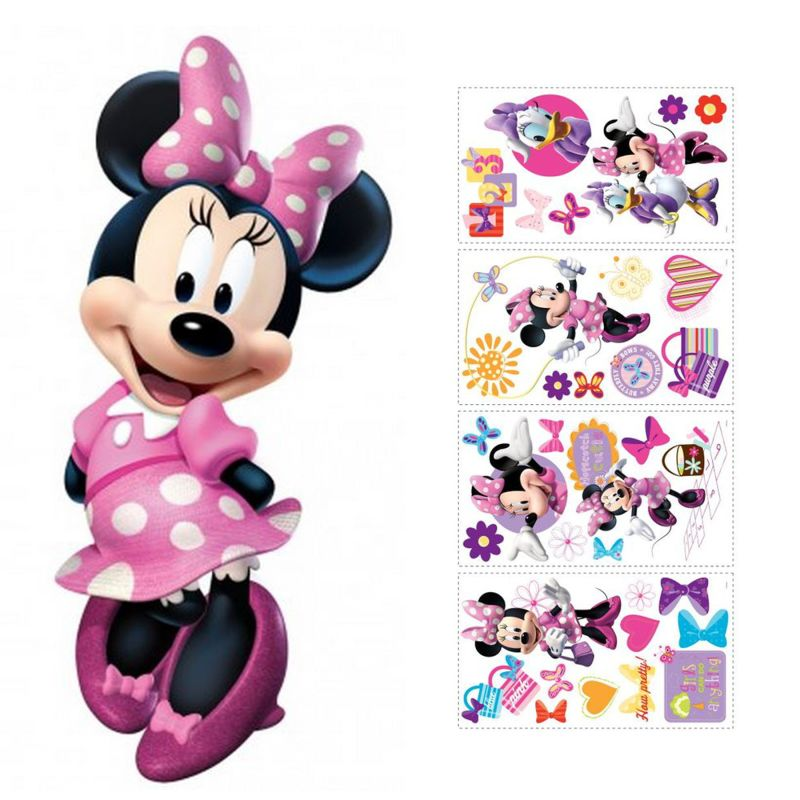 York Wallcoverings SET0007MNM Minnie Mouse Peel and Stick Wall Decal