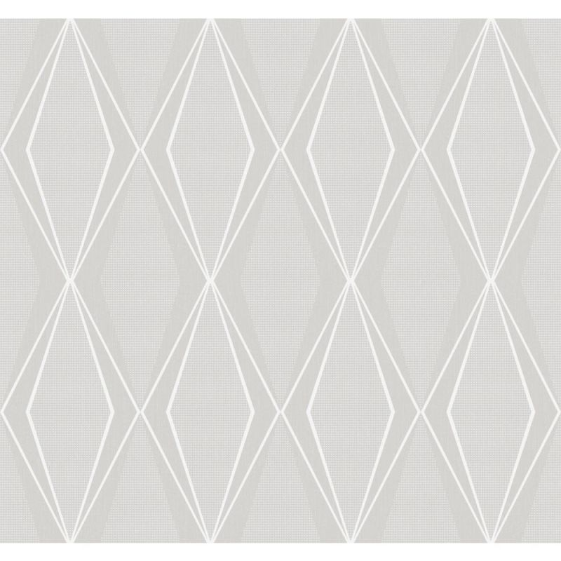 York Wallcoverings ST6009 Paper Muse Facet Wallpaper Light Grey Sale $85.50 ITEM: bci2667057 ID#:ST6009 UPC: 34878113579 :