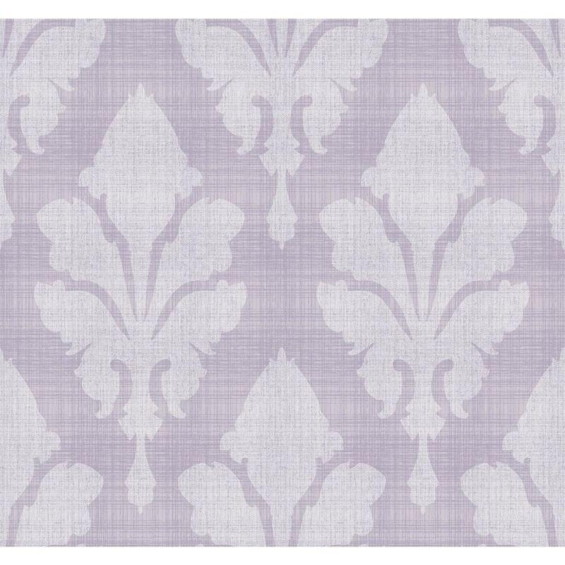 York Wallcoverings ST6047 Paper Muse Fleurish Wallpaper Light Grey