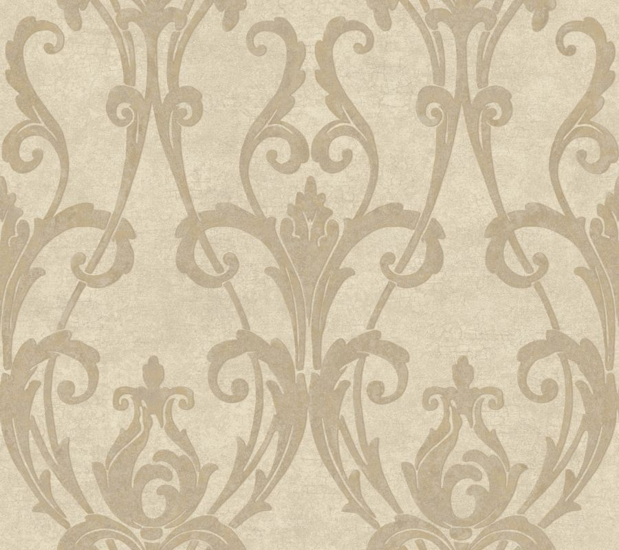 York Wallcoverings TG1905 Beige Book Ogee Damask Wallpaper Cream / Sale $71.24 ITEM: bci2355800 ID#:TG1905 UPC: 34878992235 :