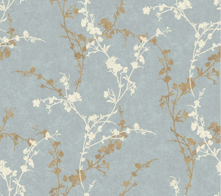 York Wallcoverings WB5447 Botanical Fantasy Delicate Floral Branch
