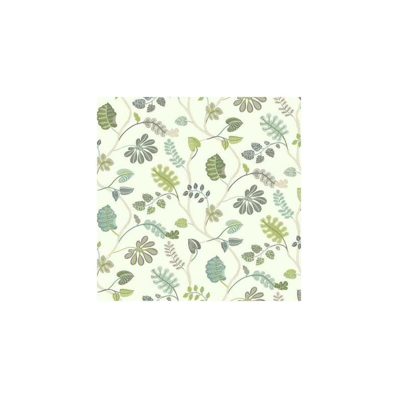 York Wallcoverings WP2401 Waverly Small Prints A New Leaf Wallpaper