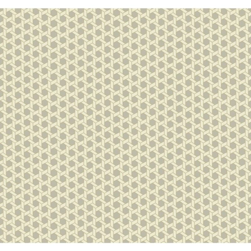 York Wallcoverings WP2469 Waverly Small Prints Shoji Wallpaper Pale