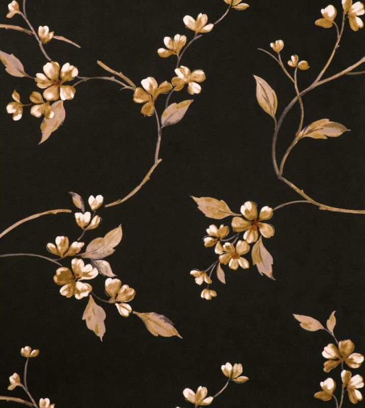 York Wallcoverings Y6130906 Reflections Cherry Trail Wallpaper Clack