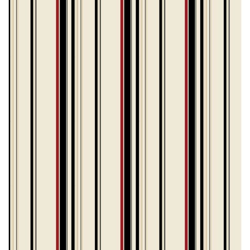 York Wallcoverings ZB3338 Wide Multi Stripe Wallpaper Sand Beige /