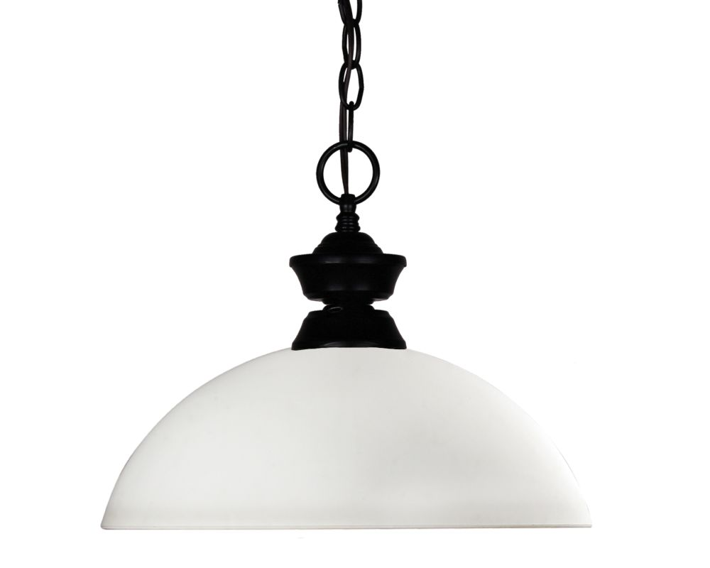 Z-Lite 100701MB-DMO14 Shark 1 Light Pendant with Glass Shade Matte Sale $120.00 ITEM: bci2219760 ID#:100701MB-DMO14 UPC: 685659018936 :