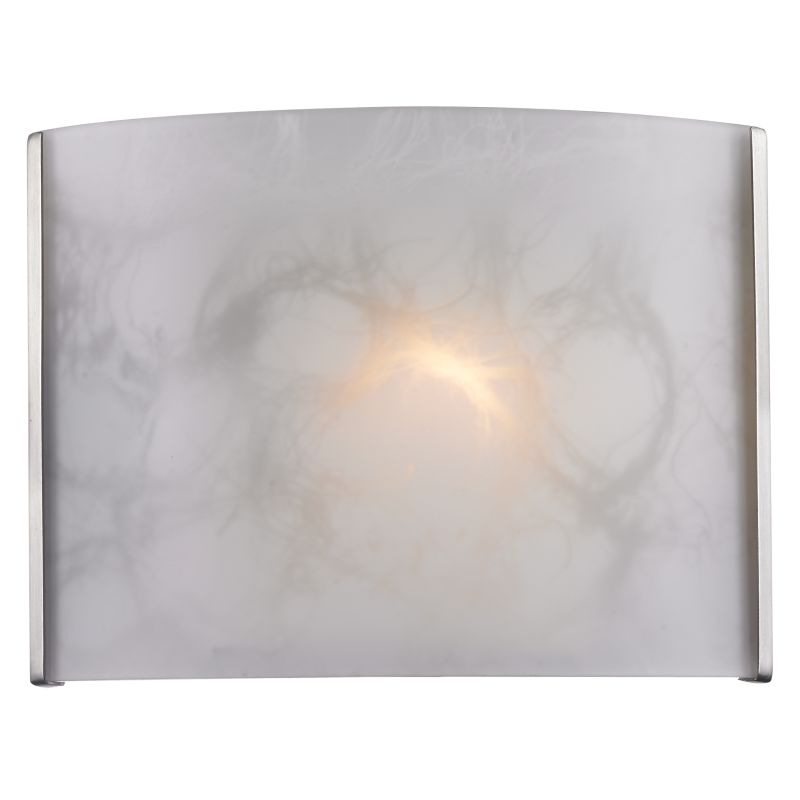 Z-Lite 1122-1S Ombra 1 Light ADA Compliant Bathroom Sconce Brushed Sale $58.00 ITEM: bci2518625 ID#:1122-1S-BN UPC: 685659027303 :