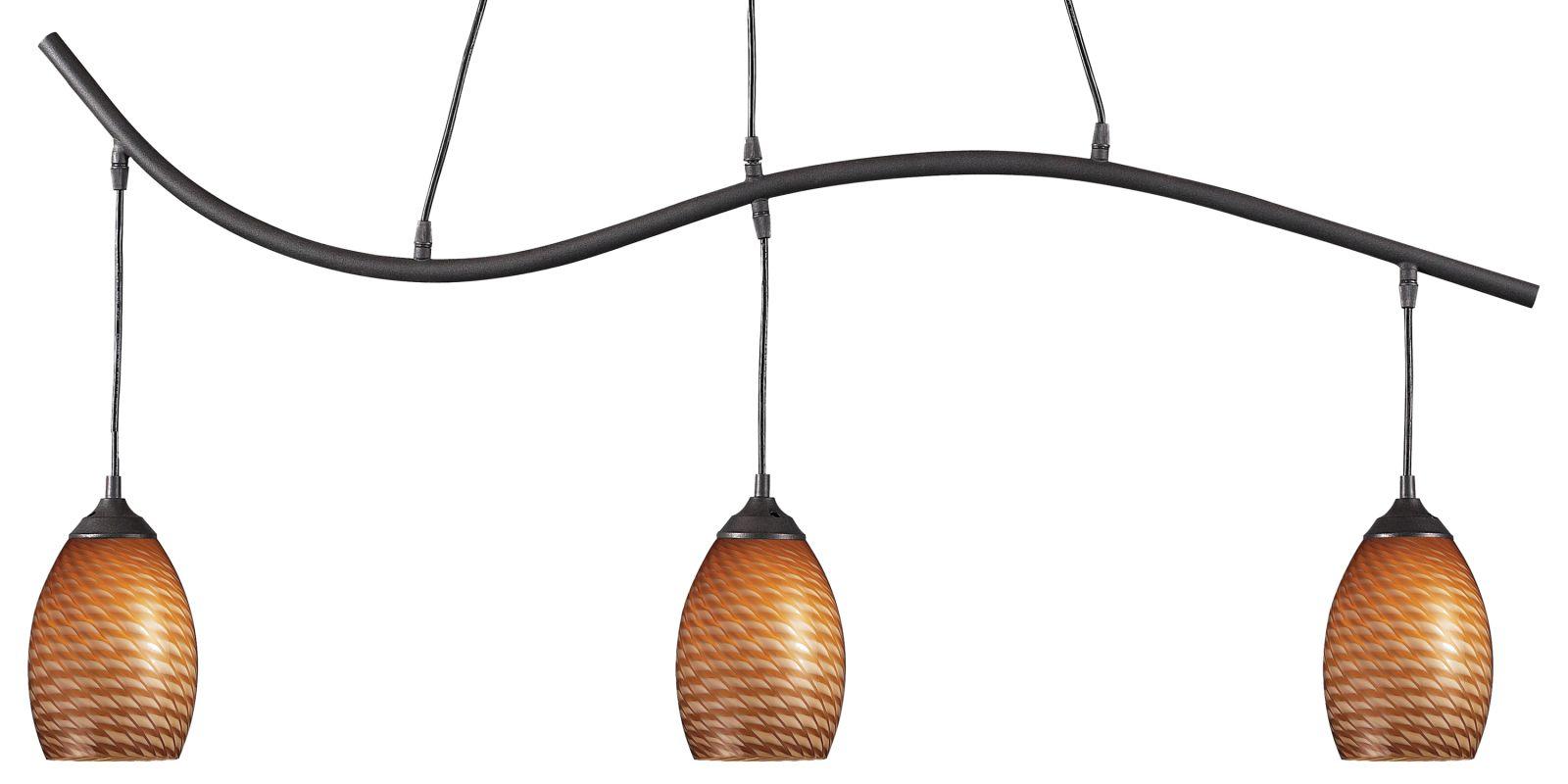 Z-Lite 131-3 Jazz 3 Light Chandelier with Glass Shade Sand Black / Sale $280.00 ITEM: bci2519175 ID#:131-3SB-CARMEL UPC: 685659003321 :