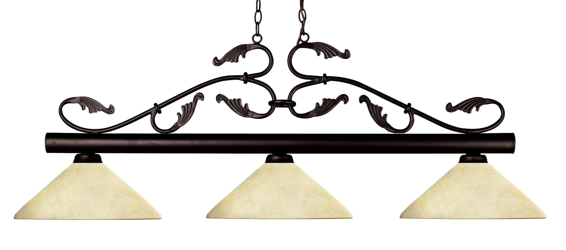 Z-Lite 140-AGM14 Bourbon 3 Light Chandelier with Golden Mottle Glass Sale $416.00 ITEM: bci2519181 ID#:140BRZ-AGM14 UPC: 685659019445 :