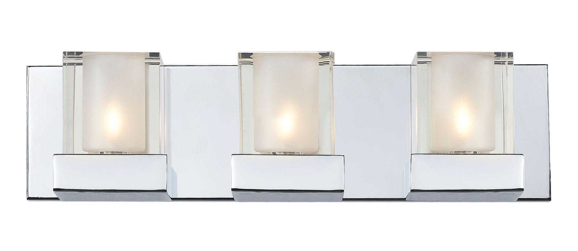 Z-Lite 174-3V Aster 3 Light Bathroom Vanity Light with Clear Glass