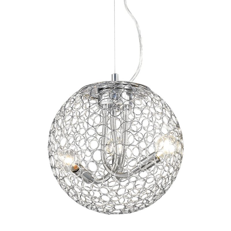 Z-Lite 175-12 Saatchi 3 Light Full Sized Pendant with Chrome Shade Sale $226.00 ITEM: bci2269705 ID#:175-12 UPC: 685659025682 :