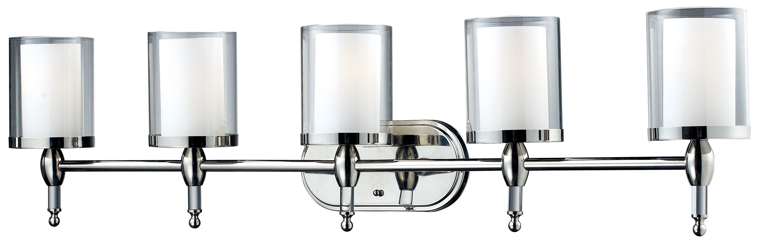 Z-Lite 1908-5V Argenta 5 Light Bathroom Vanity Light with Matte Opal Sale $498.00 ITEM: bci1826261 ID#:1908-5V UPC: 685659007190 :