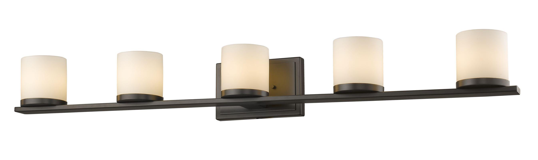 Z-Lite 1912-5V Nori 5 Light Bathroom Vanity Fixture Bronze Indoor Sale $362.00 ITEM: bci2613925 ID#:1912-5V-BRZ UPC: 685659039214 :