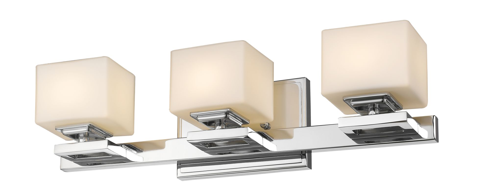 Z-Lite 1914-3V Cuvier 3 Light Bathroom Vanity Fixture Chrome Indoor