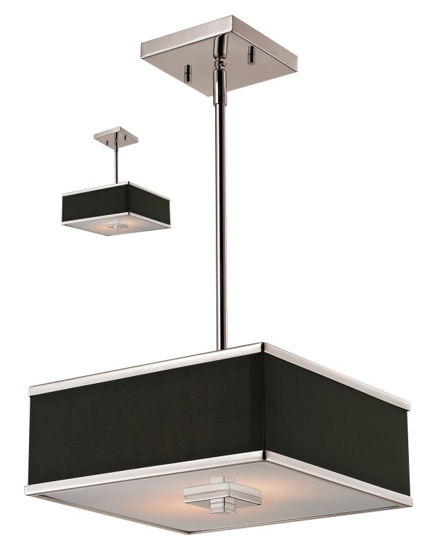 Z-Lite 197-12 Rego 2 Light Full Sized Pendant with Chocolate Shade Sale $161.00 ITEM: bci2219241 ID#:197-12 UPC: 685659023695 :
