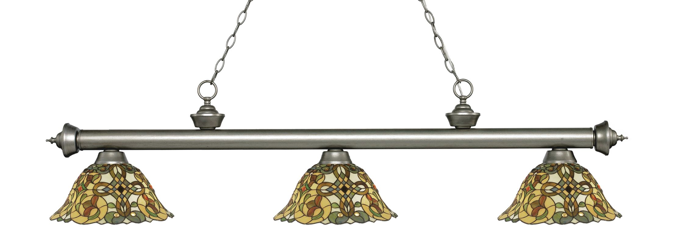 Z-Lite 200-3-R14A Riviera 3 Light Island/Billiard Chandelier with Sale $828.00 ITEM: bci2734555 ID#:200-3AS-R14A UPC: 685659052411 :