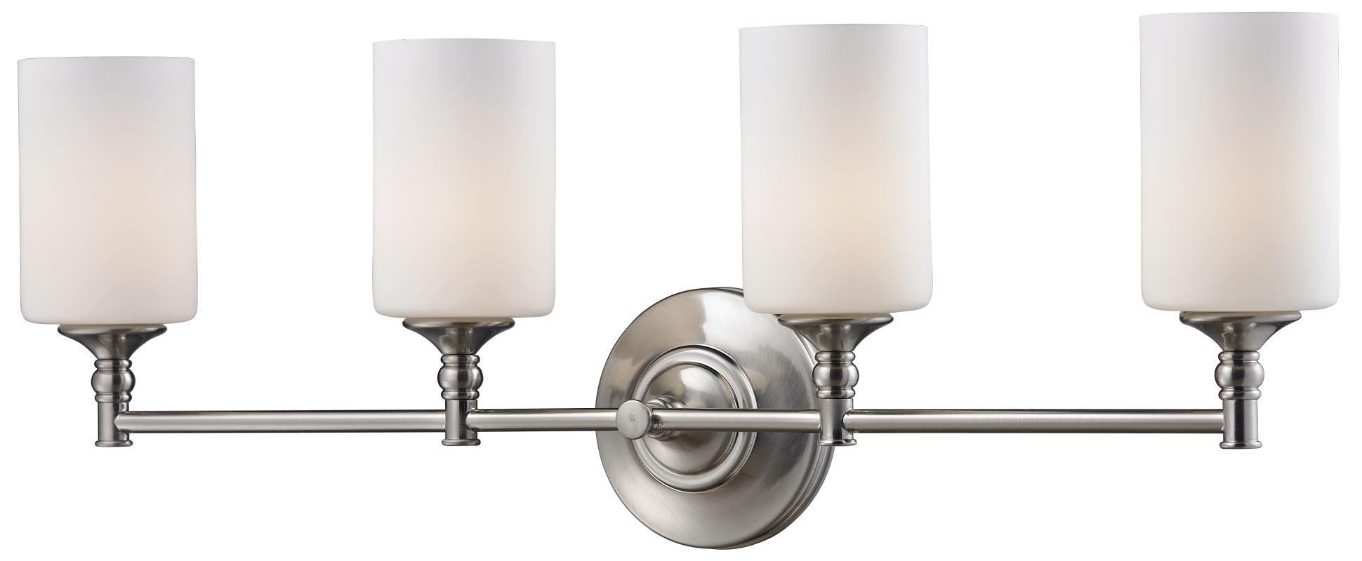 Z-Lite 2102-4V Cannondale 4 Light Bathroom Vanity Light with Matte