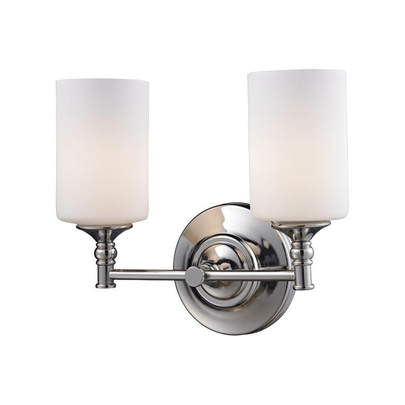 Z-Lite 2103-2V Cannondale 2 Light Bathroom Vanity Light with Matte