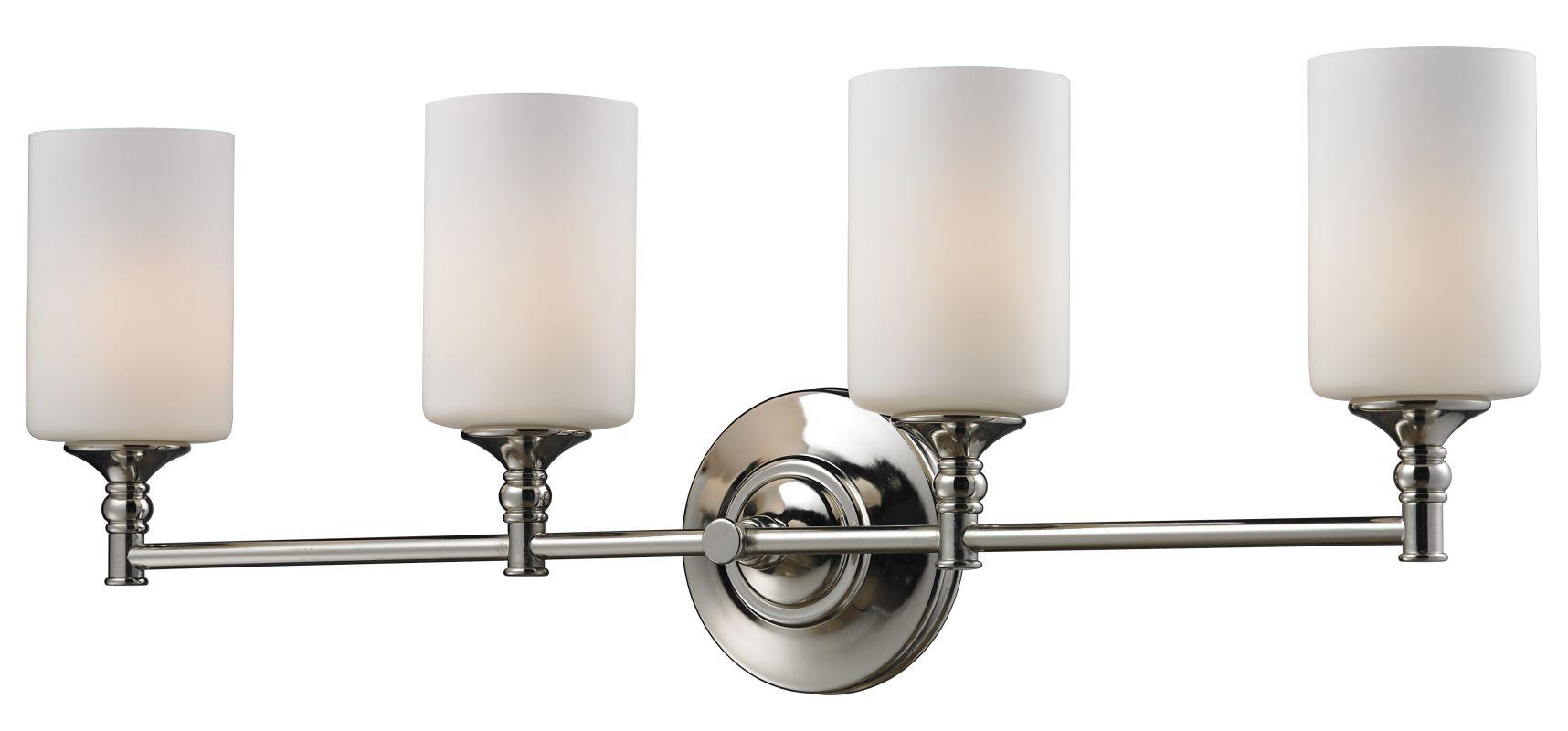 Z-Lite 2103-4V Cannondale 4 Light Bathroom Vanity Light with Matte Sale $208.00 ITEM: bci2485411 ID#:2103-4V UPC: 685659016925 :