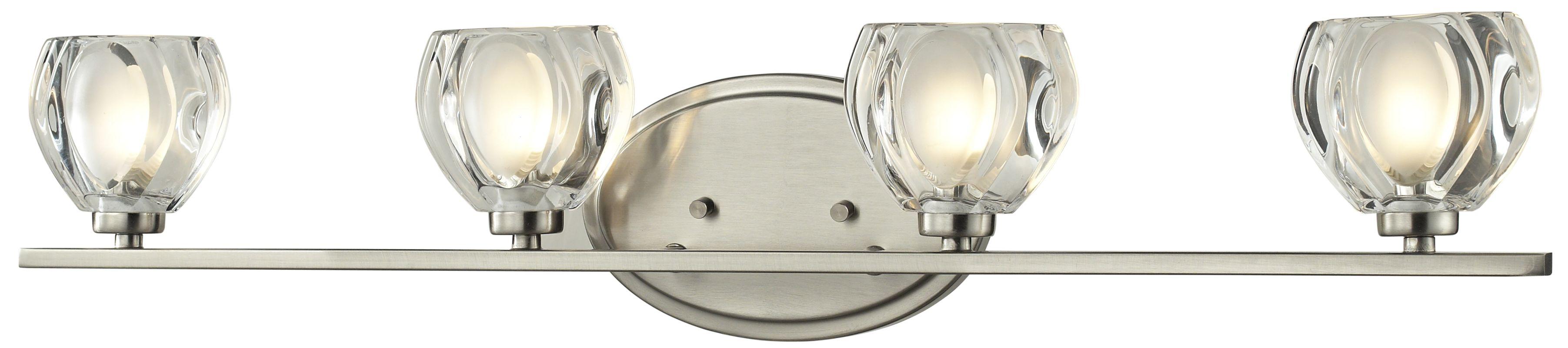 Z-Lite 3022-4V Hale 4 Light ADA Compliant Bathroom Vanity Light with