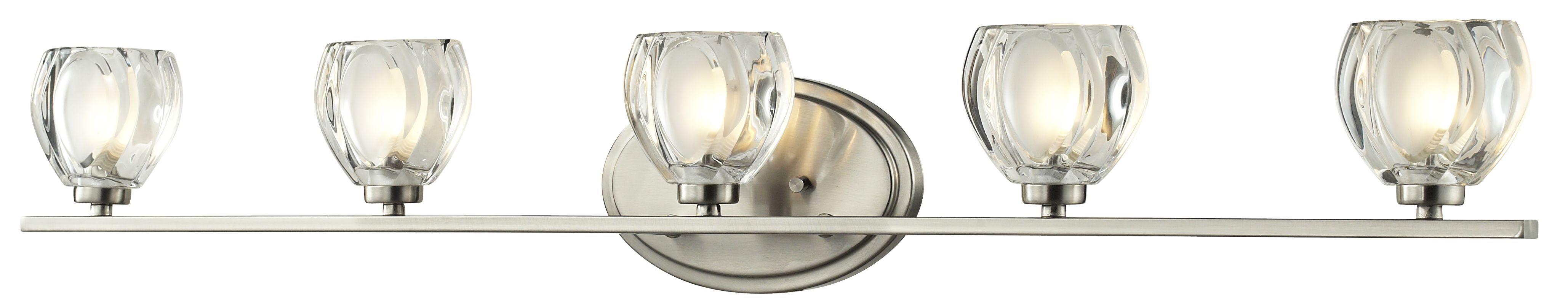 Z-Lite 3022-5V Hale 5 Light ADA Compliant Bathroom Vanity Light with