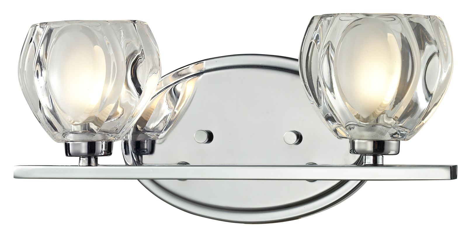 Z-Lite 3023-2V Hale 2 Light ADA Compliant Bathroom Vanity Light with