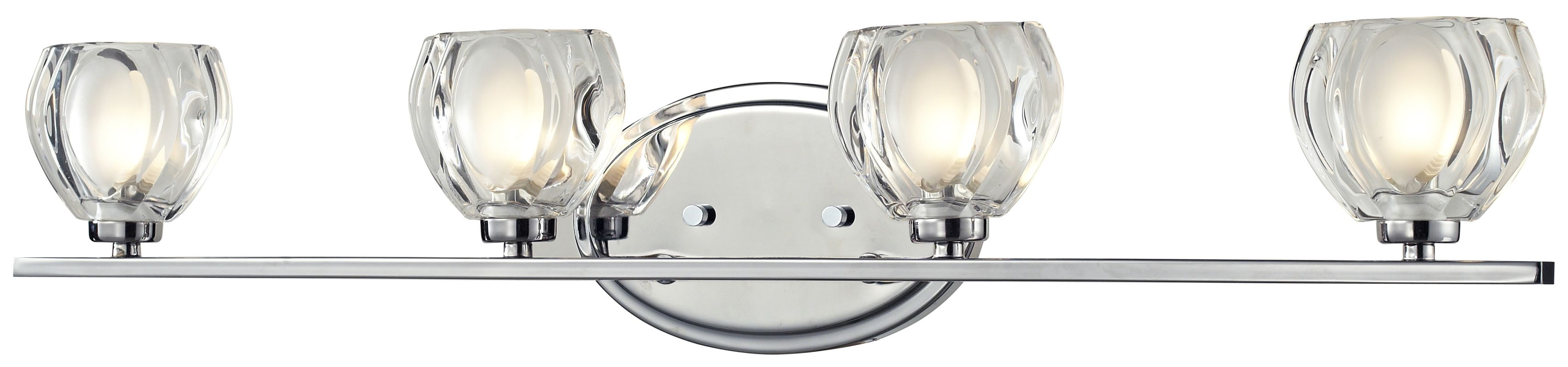 Z-Lite 3023-4V Hale 4 Light ADA Compliant Bathroom Vanity Light with