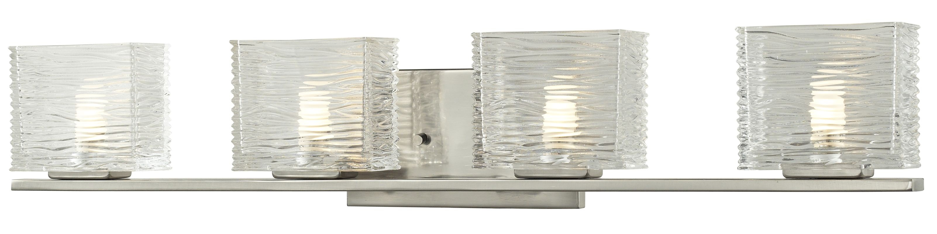 Z-Lite 3024-4V Jaol 4 Light ADA Compliant Bathroom Vanity Light with