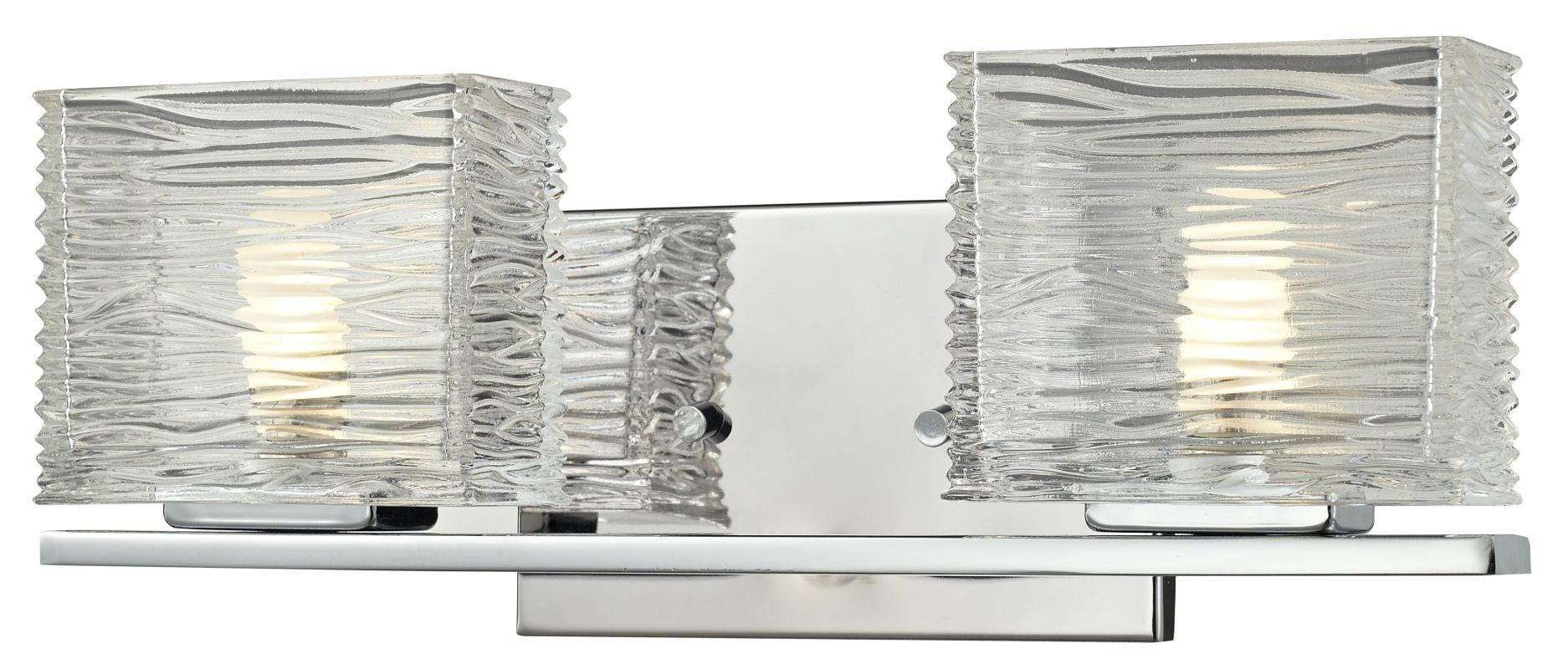 Z-Lite 3025-2V Jaol 2 Light ADA Compliant Bathroom Vanity Light with