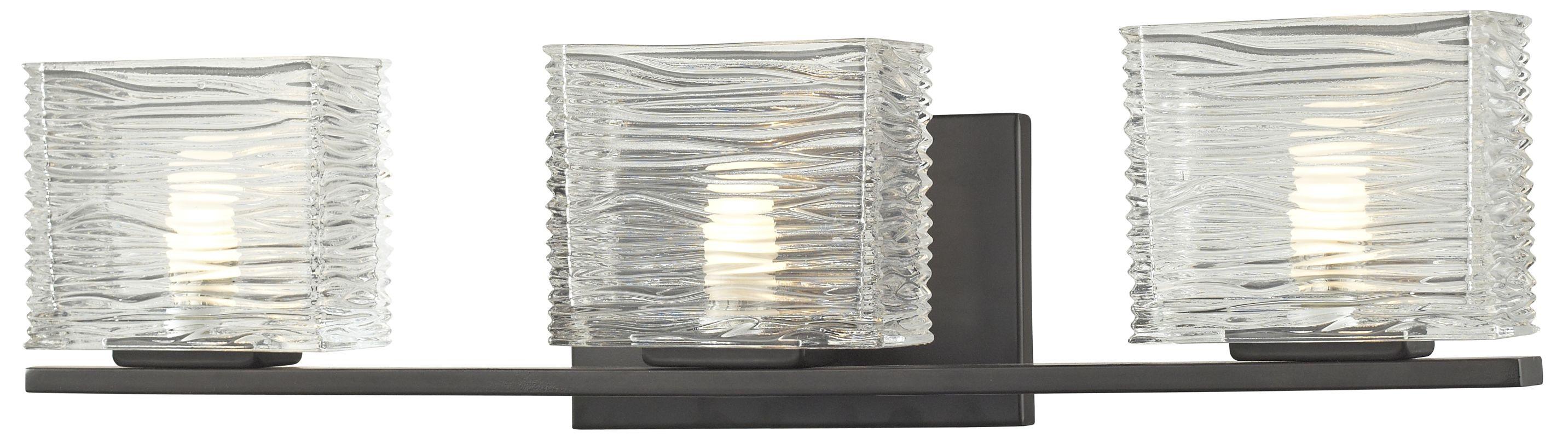 Z-Lite 3026-3V Jaol 3 Light ADA Compliant Bathroom Vanity Light with