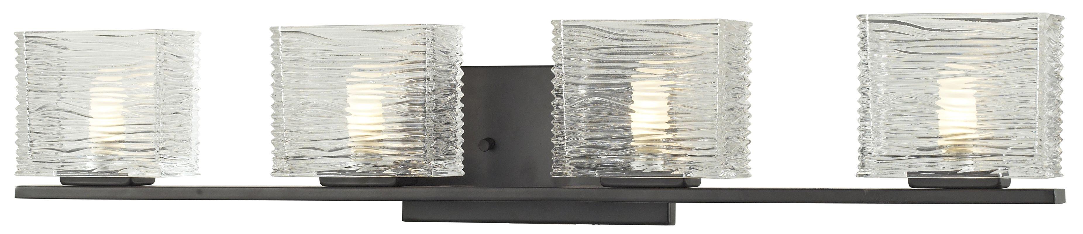 Z-Lite 3026-4V Jaol 4 Light ADA Compliant Bathroom Vanity Light with