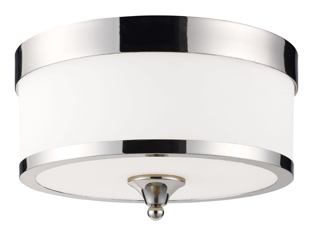Z-Lite 307F Cosmopolitan 3 Light Flushmount Ceiling Fixture with White Sale $154.00 ITEM: bci1824843 ID#:307F-CH UPC: 685659008449 :