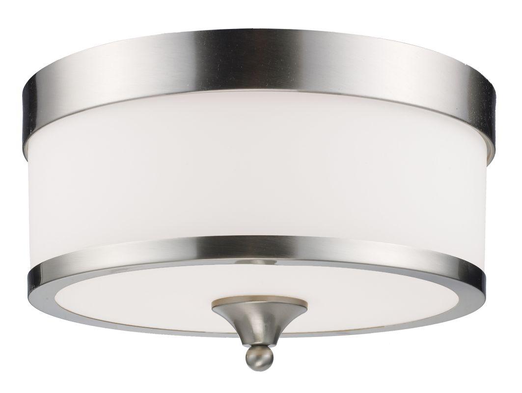 Z-Lite 308F Cosmopolitan 3 Light Flushmount Ceiling Fixture with White Sale $154.00 ITEM: bci1824849 ID#:308F-BN UPC: 685659008500 :