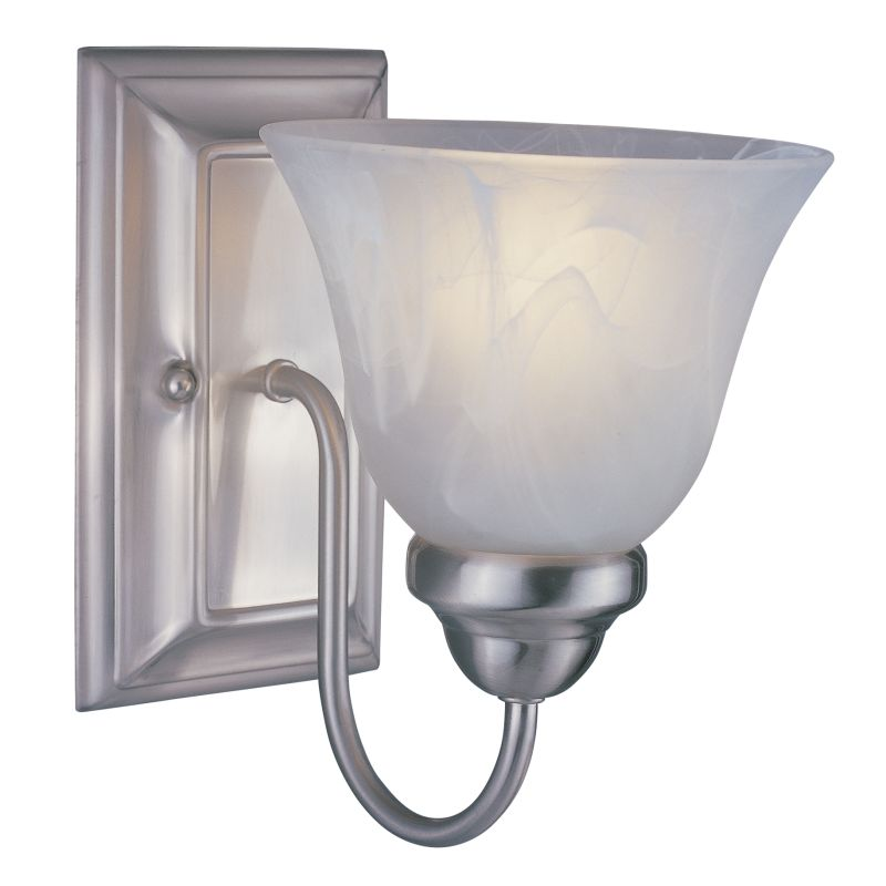 Z-Lite 311-1S Lexington 1 Light Wall Sconce with White Swirl Glass Sale $44.00 ITEM: bci1824867 ID#:311-1S-BN UPC: 685659008685 :