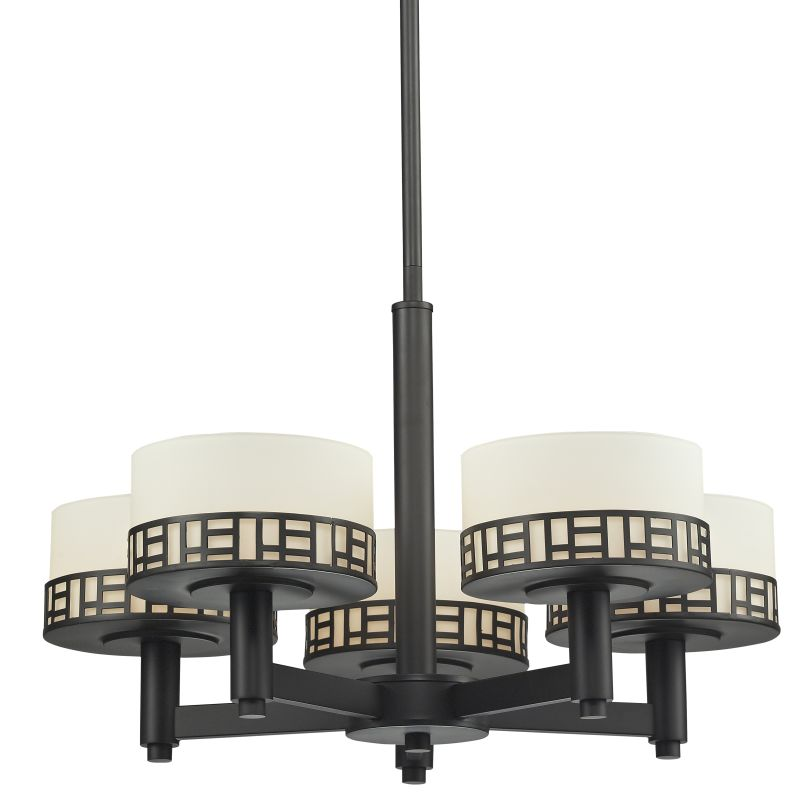 Z-Lite 329-5 Elea 5 Light 1 Tier Chandelier with Matte Opal Shade Sale $608.00 ITEM: bci2518894 ID#:329-5-BRZ UPC: 685659028591 :