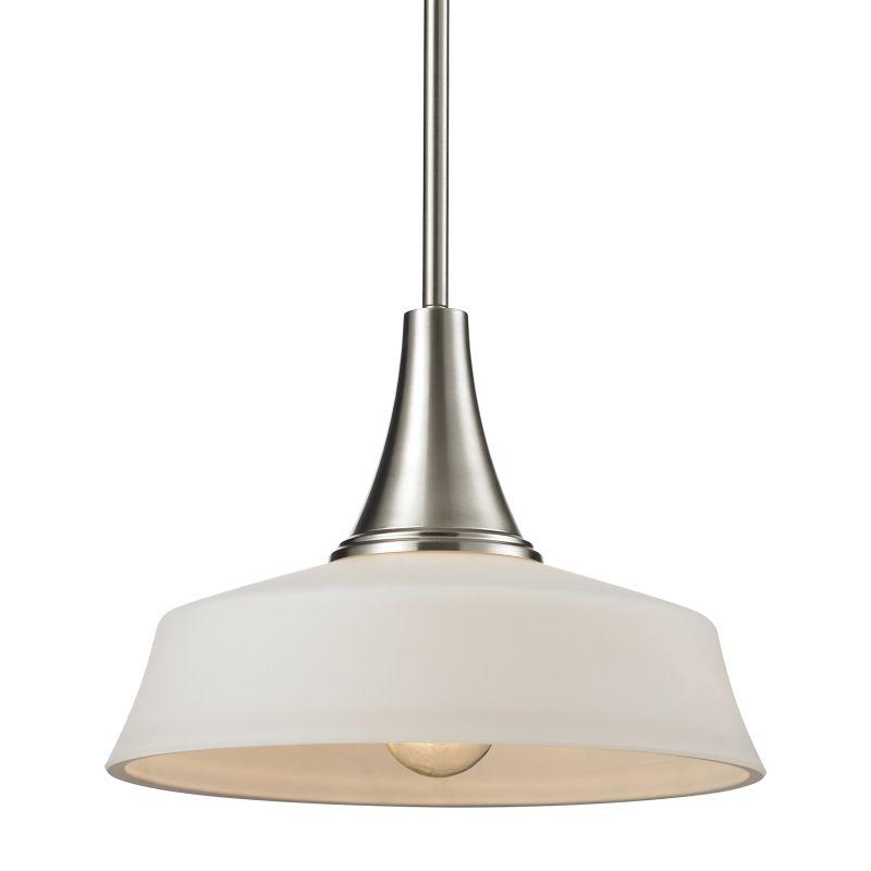 Z-Lite 410MP12 Montego 1 Light Full Sized Pendant with Matte Opal