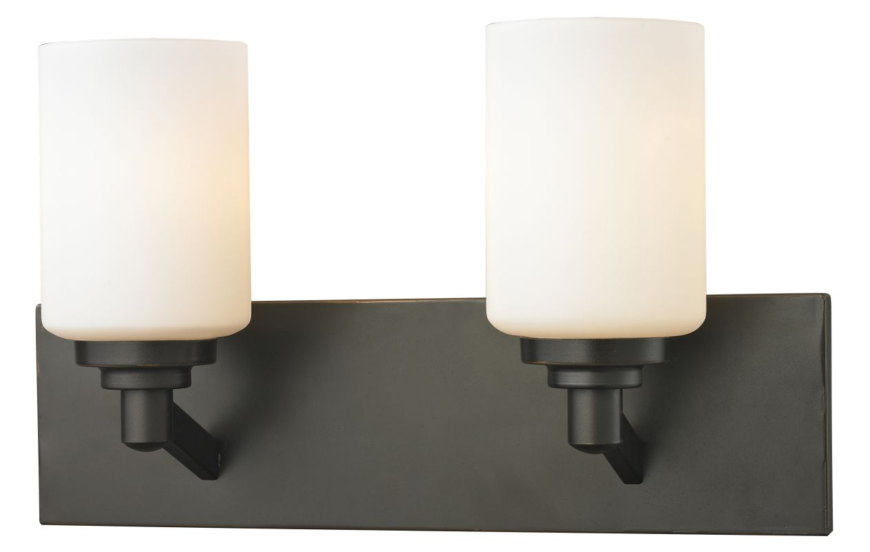Z-Lite 411-2V Montego 2 Light Bathroom Vanity Light with Matte Opal Sale $84.00 ITEM: bci2485431 ID#:411-2V UPC: 685659036244 :