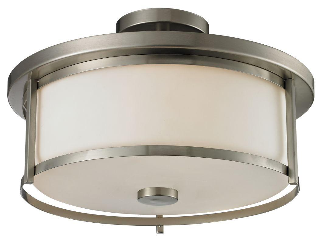 Z-Lite 412SF16 Savannah 3 Light Semi-Flush Ceiling Fixture with Matte Sale $220.00 ITEM: bci2518930 ID#:412SF16 UPC: 685659036756 :