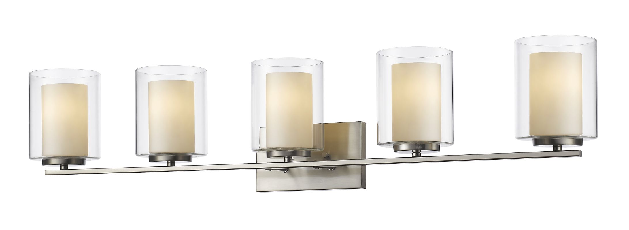 Z-Lite 426-5V Willow 5 Light Bathroom Vanity Fixture Brushed Nickel Sale $294.00 ITEM: bci2614044 ID#:426-5V-BN UPC: 685659039634 :