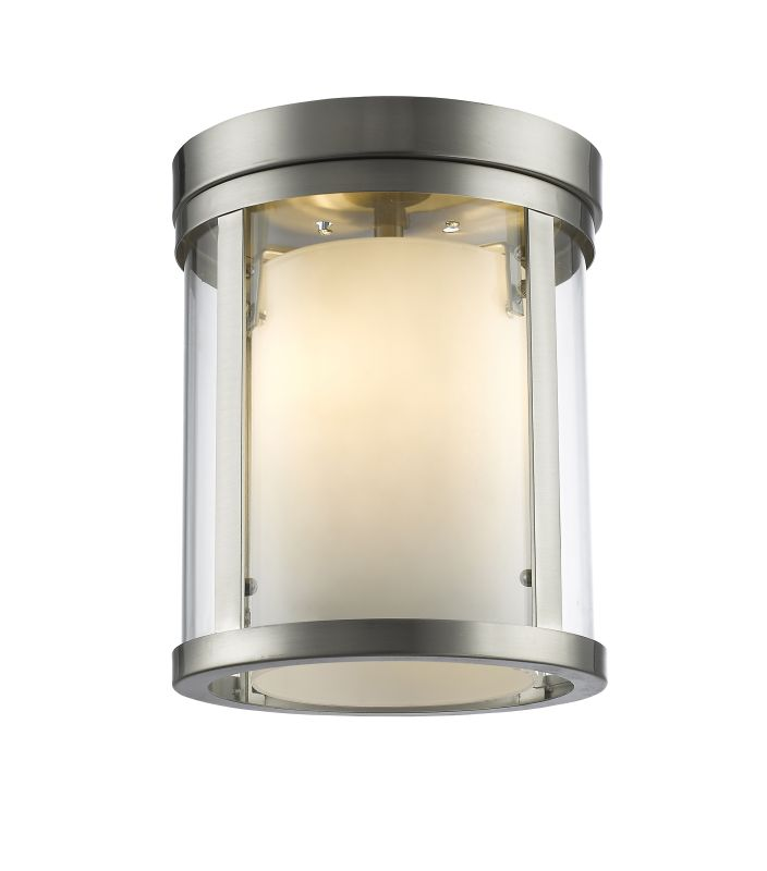 Z-Lite 426F Willow 3 Light Flush Mount Ceiling Fixture Brushed Nickel Sale $288.00 ITEM: bci2614052 ID#:426F-BN UPC: 685659039733 :