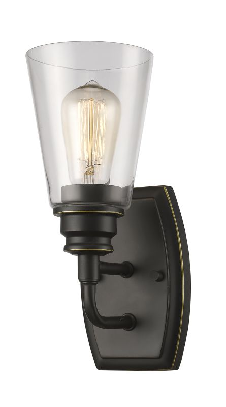 Z-Lite 428-1S Annora 1 Light Bathroom Sconce Olde Bronze Indoor Sale $116.00 ITEM: bci2614059 ID#:428-1S-OB UPC: 685659040470 :