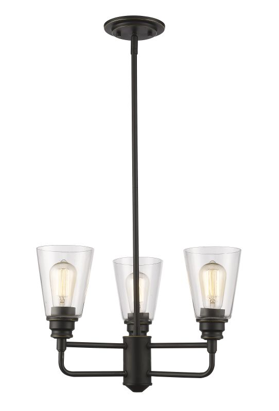 Z-Lite 428-3 Annora 3 Light Chandelier Olde Bronze Indoor Lighting Sale $280.00 ITEM: bci2614067 ID#:428-3-OB UPC: 685659040432 :