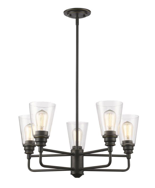 Z-Lite 428-5 Annora 5 Light Chandelier Olde Bronze Indoor Lighting Sale $396.00 ITEM: bci2614086 ID#:428-5-OB UPC: 685659040418 :