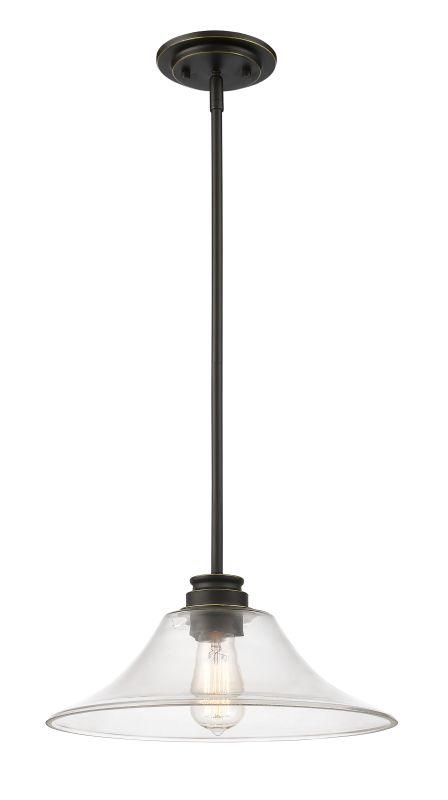 Z-Lite 428MP14 Annora 1 Light Pendant Olde Bronze Indoor Lighting