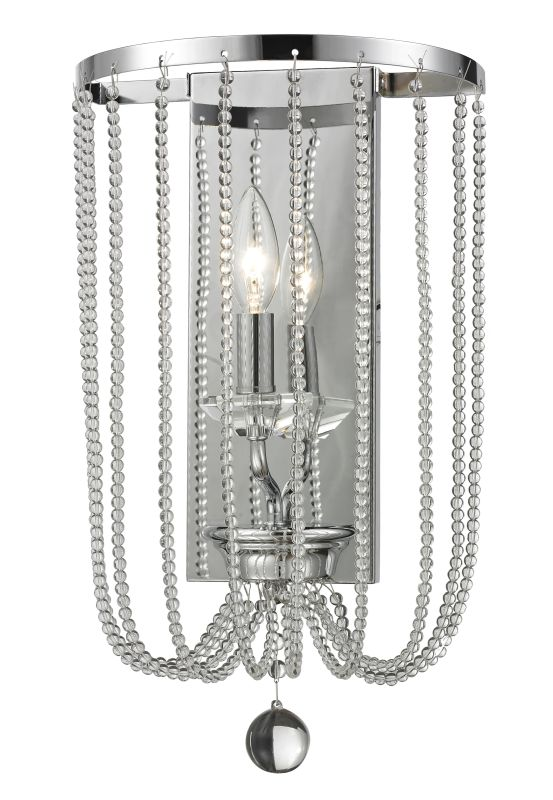 Z-Lite 429-1W Serenade 1 Light Wall Sconce Chrome Indoor Lighting Sale $176.00 ITEM: bci2614098 ID#:429-1W-CH UPC: 685659045130 :
